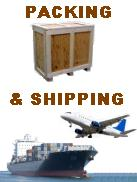 packing, shipping, freight forwarding
